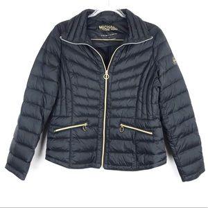 Michael Kors Black Down Puffer Jacket Large